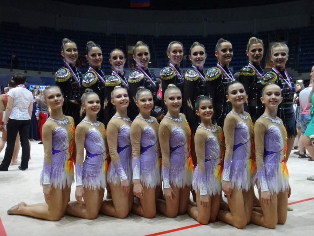 GG World Chanmpoinship 2014 Moskva 2014 - finále juniorek